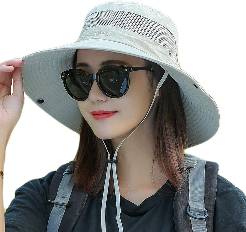 Sun hat UV Cut Outdoor hat Sun Hat for - Gardening/Garden Hat - Wide Brim Summer Cap, Fishing & Beach Travels