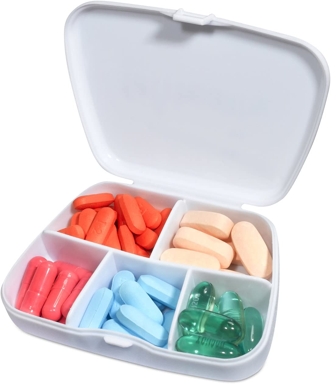 gift for mom gift for her cute farm animal Farmers Market vitamin organizer P55 Lamb pill container supplement holder Pill Box pill case