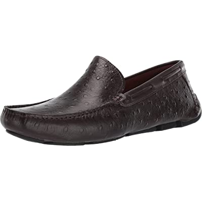 Massimo Matteo Men's Osterich Driver | Loafers & Slip-Ons