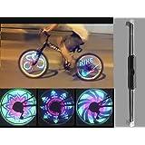 Pesp Waterproof 36 LED Colorful RGB 32 Pattern Bicycle Bike Wheel Light Monkey Light