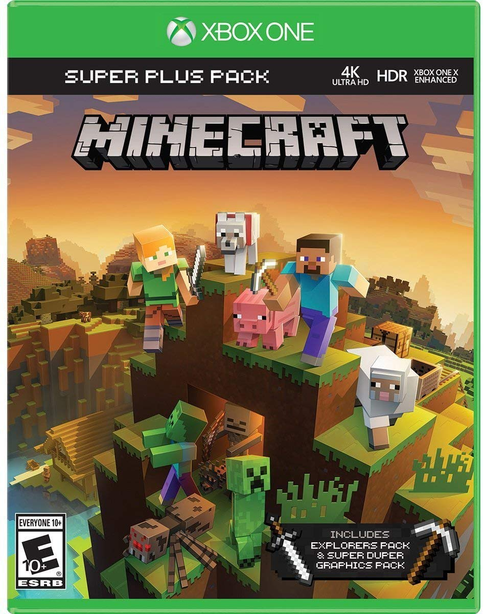 Minecraft Super Plus Pack for Xbox One [USA]: Amazon.es: Cine y ...