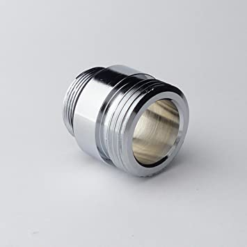 "M22x1 1//2/"" M24x1 3//8/"" Adapter Reduzierstück Chrom Messing 3//4/"" AG /& IG"