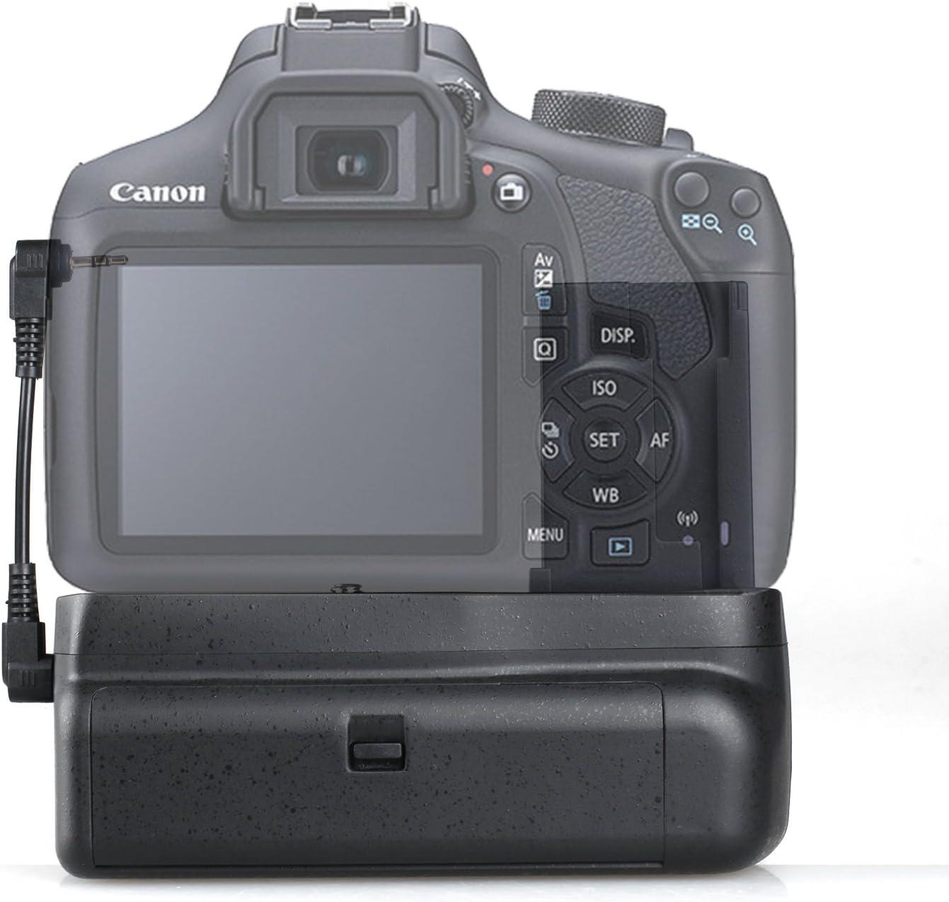 Empuñadura de Batería BG-1H para Canon 1100d 1200d 1300d Rebel T3 ...