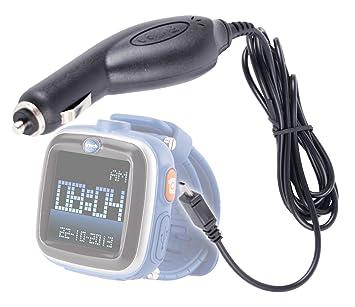 DURAGADGET – Cargador USB de mechero de coche compatible con reloj inteligente Kidizoom y Kidizoom Smartwatch
