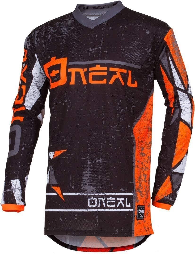 001E-0Adult Farbe Orange ONeal Element Zen Motocross Jersey MX Enduro Gel/ände Cross Trikot Dh FR MTB Motorrad Gr/ö/ße 2XL