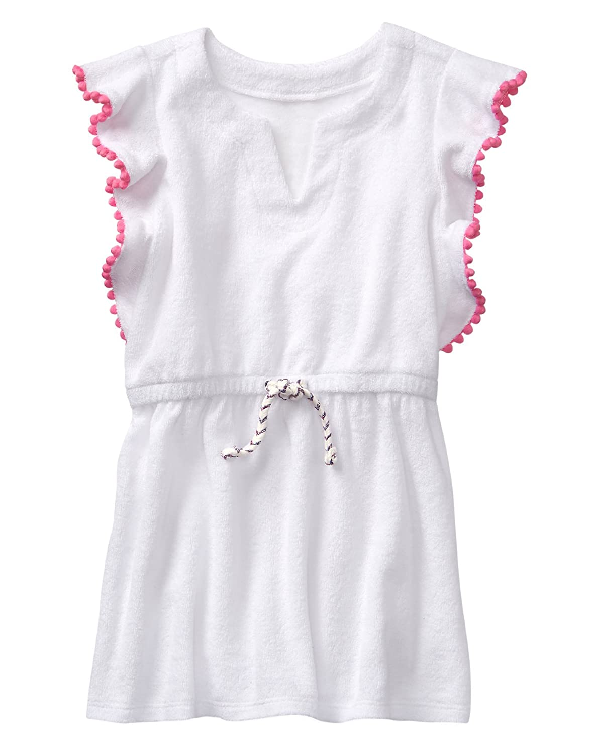 5f66c13e9b2b5 Top5: Gymboree Toddler Girls\' Swim Cover up with Bobble Trim