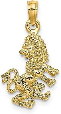 Lex /& Lu 14k Yellow Gold Dog Pendant-Prime