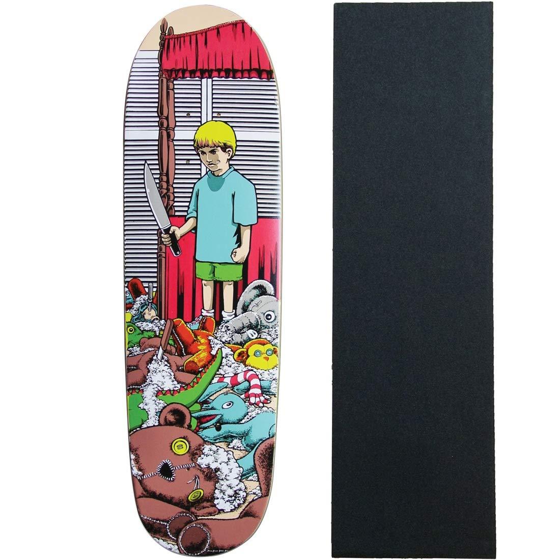 Heritage Re-Issue Skateboard Deck 101 McNatt Stuffed Animals with Grip