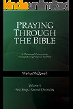 Praying Through the Bible (Vol 3): 1 Kings–2 Chronicles