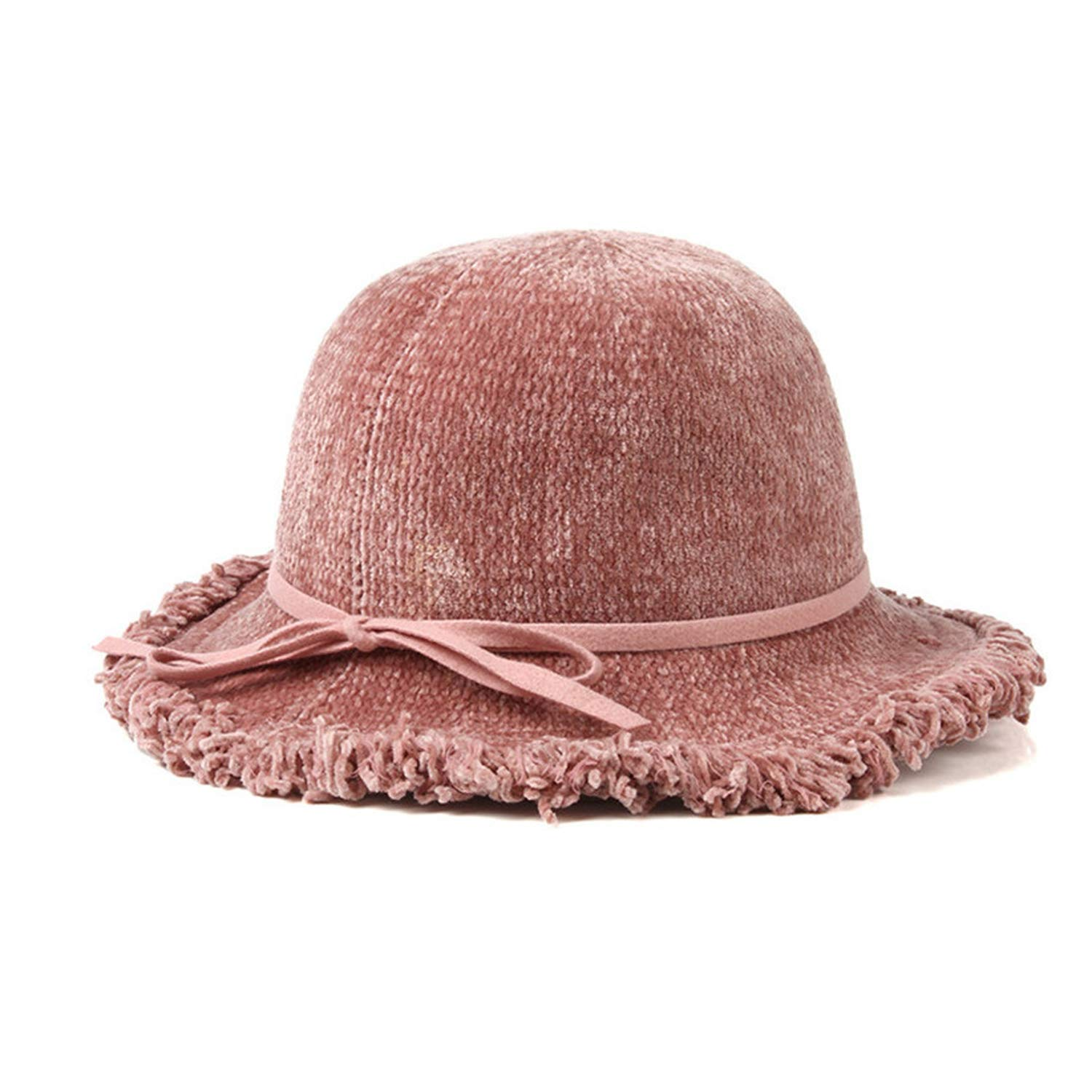 Winter Elegant Tassels Brim Women Fedora Hats Wedding Party Sun Hat Woman Warm Caps,PK,United States,One Size