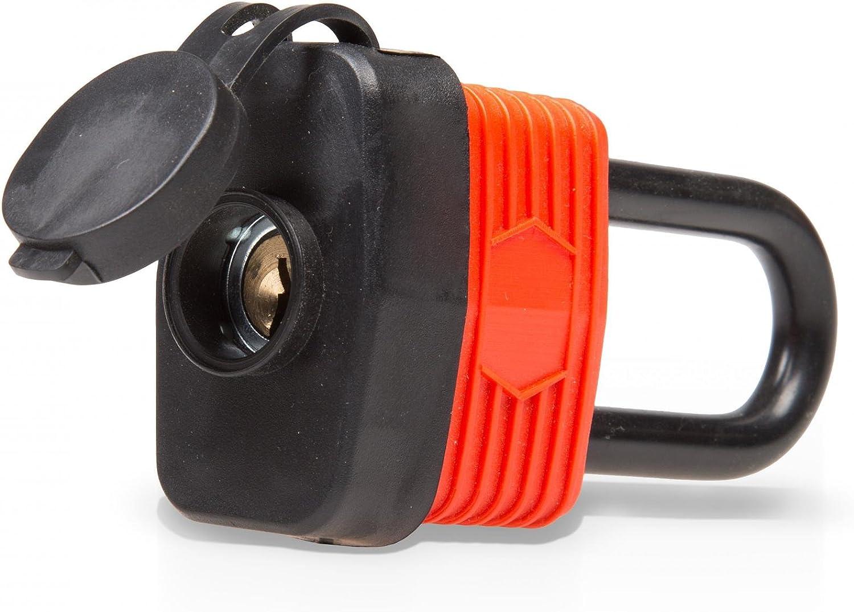 40 mm Vorh/ängeschloss lang wasserdicht
