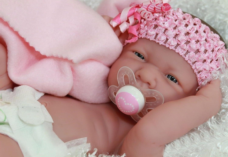 Amazon Com Berenguer Precious Preemie La Newborn Doll Extras