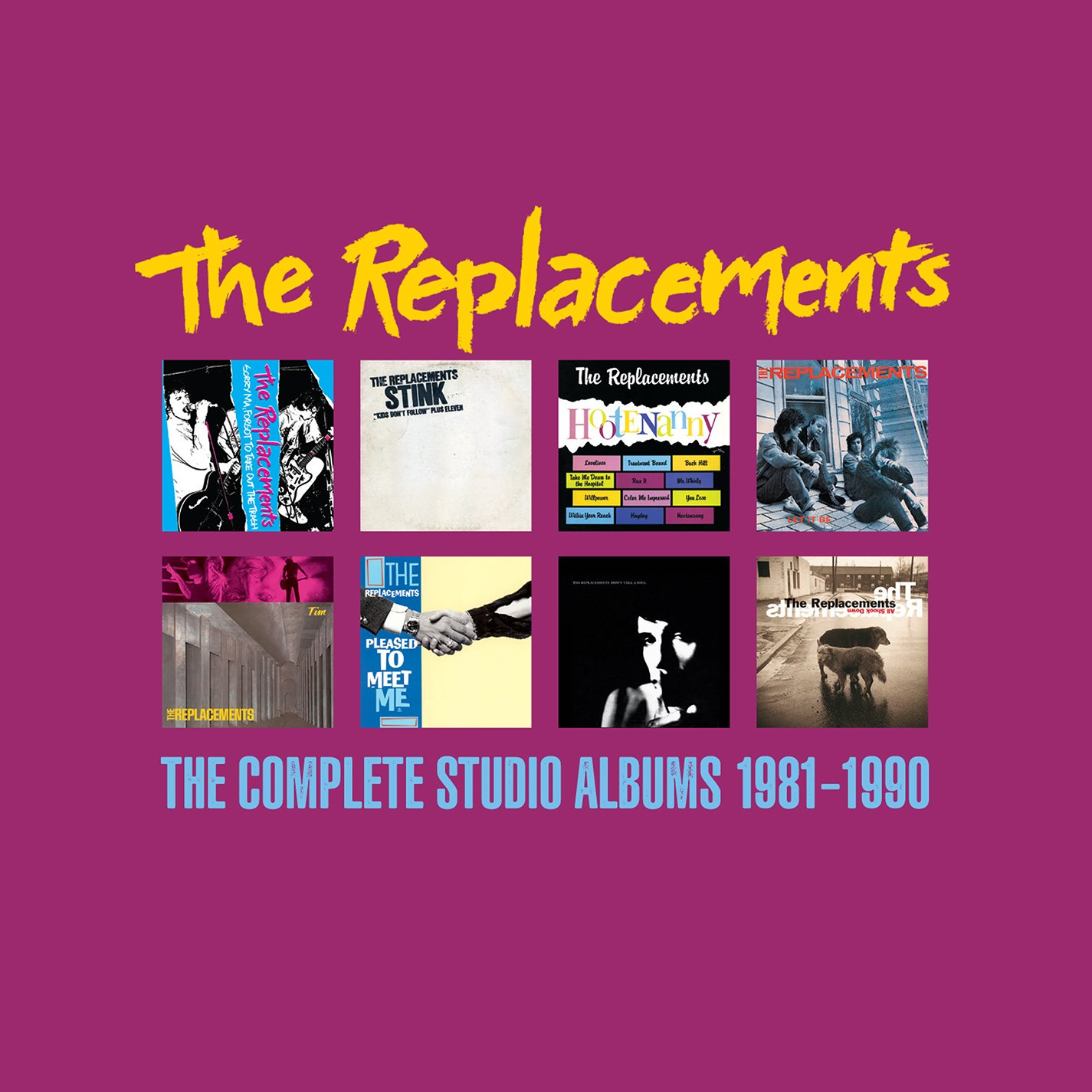 The Jacksonville Mall Complete Studio Max 47% OFF 1981-1990 Albums 8CD