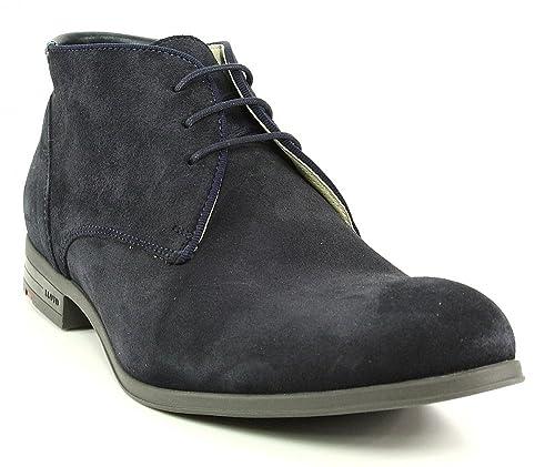 Lloyd - Botas de Piel para Mujer, Color Azul, Talla 8: Amazon.es: Zapatos y complementos