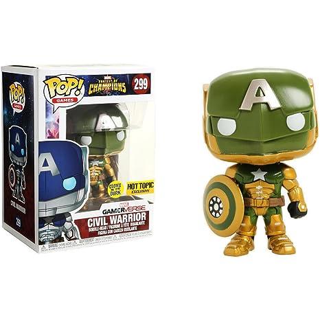 Amazon.com: Civil Warrior [Glow-in-Dark] (Hot Topic ...