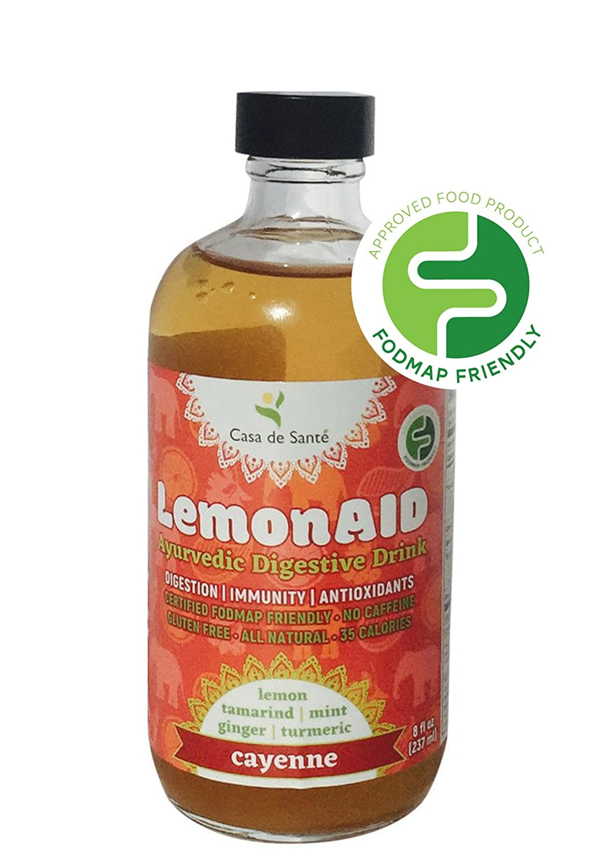 Amazon.com : Casa de Sante Low FODMAP Certified LemonAID Ayurvedic ...