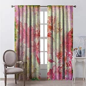 Amazon.com: hengshu Lush Decor Curtains 72 Inch Lenght ...