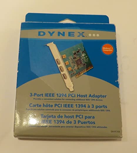 DYNEX IEEE FIREWIRE NOTEBOOK CARD DRIVER DOWNLOAD