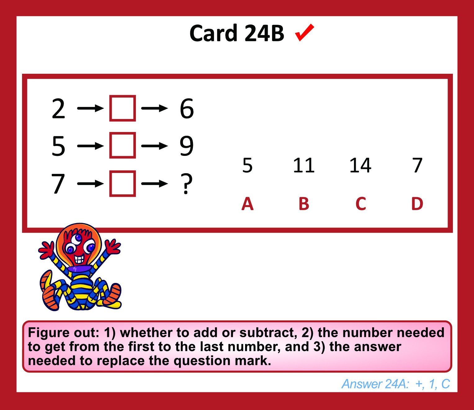 TestingMom.com Gifted Learning Flash Cards – Math Concepts for Grade 1 – Educational Practice for CogAT Test, OLSAT Test, ITBS, NYC Gifted and Talented, ...