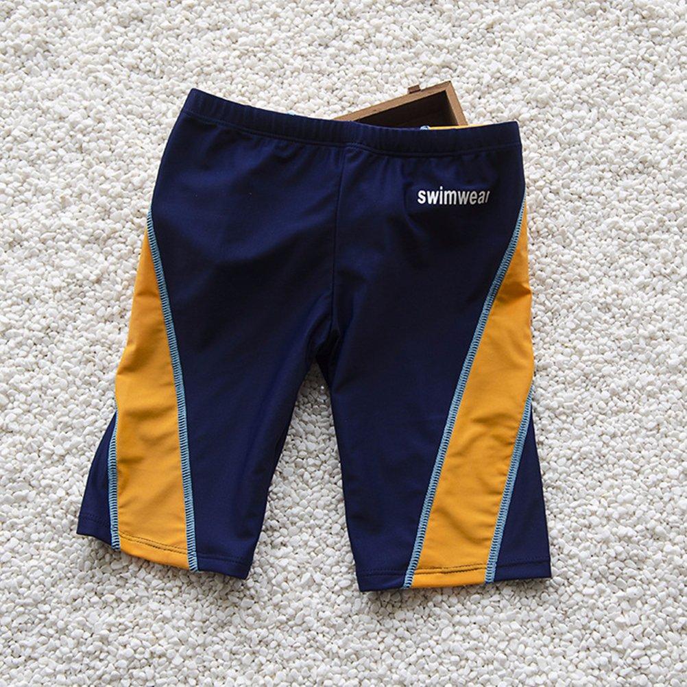 93259d127685 Zhhlaixing Ragazzi Costume da bagno Atletico Baule da nuoto Protezione  solare Asciugatura veloce Calzoncino Swim Shorts: Amazon.it: Abbigliamento