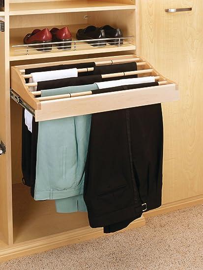 Exceptionnel Rev A Shelf CWPR Pant Rack   30u0026quot; Width   Wood