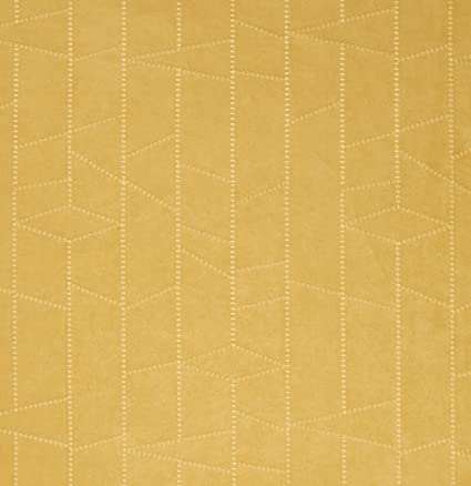 Amazon Com Gold Yellow Abstract Geometric Microfiber Microsuede