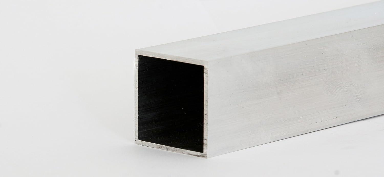 Aluminium Rechteckrohr L/änge 2000 mm 45x25x2 mm