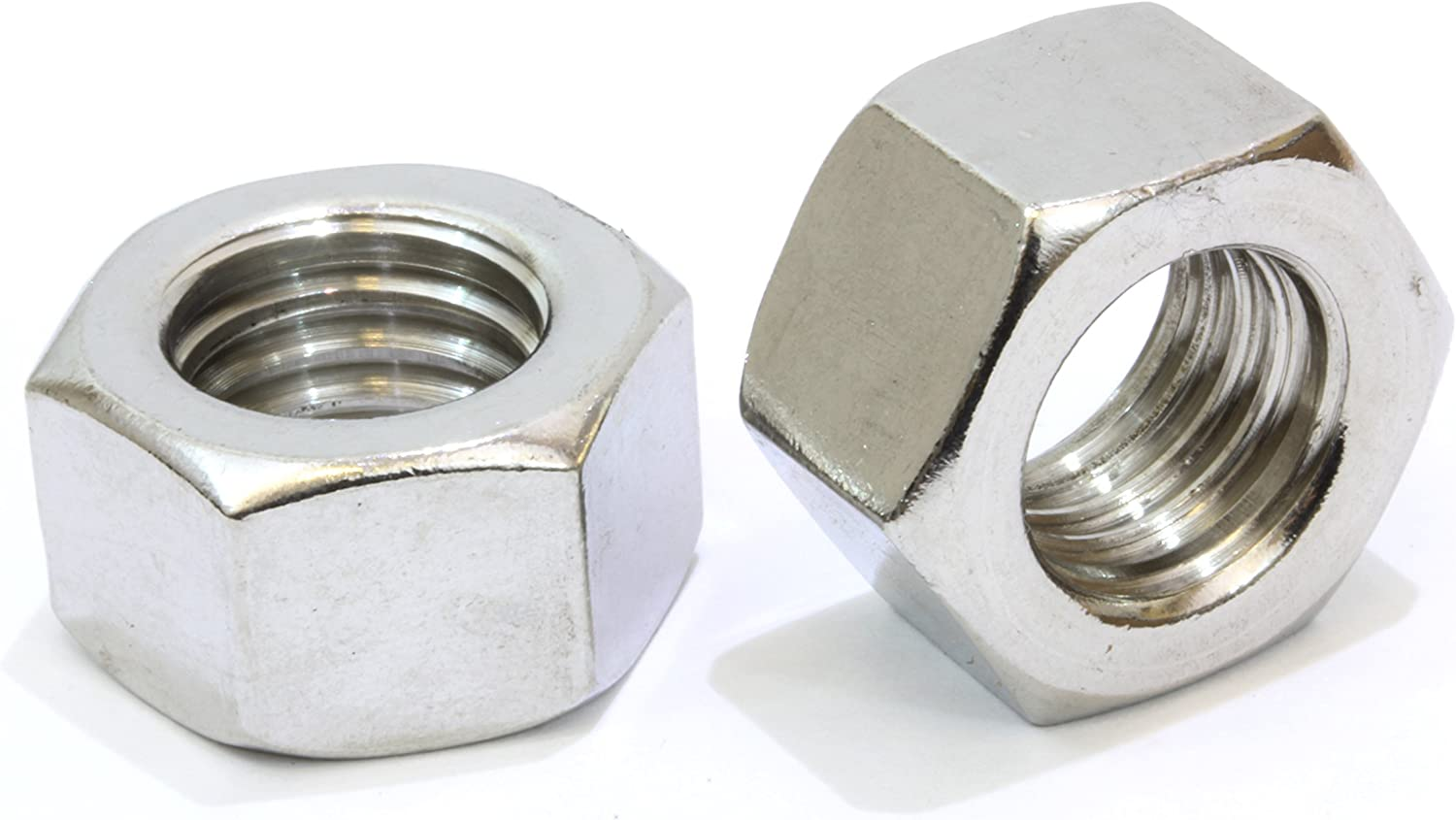 5//8 x 1-1//2 OD NL-19 Finish 18-8 Stainless Steel Flat Washers R 50 pk.