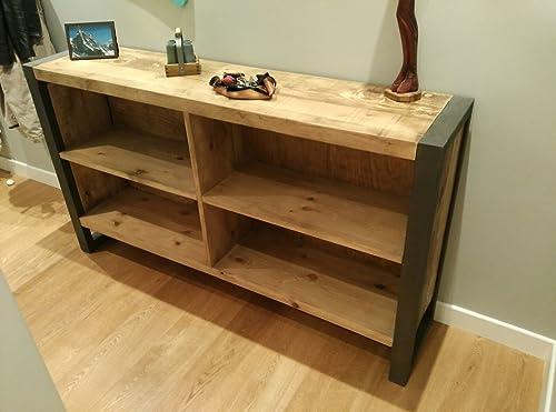 Aparador industrial madera con hierro: Amazon.es: Handmade