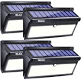 BAXIA TECHNOLOGY Solar Lights Outdoor, Wireless 100 LED Solar Motion Sensor Lights Waterproof Security Wall Lighting…