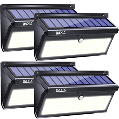 BAXIA TECHNOLOGY Solar Lights Outdoor 100 LED