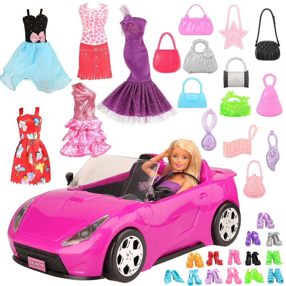 vestidos y accesorios para barbie