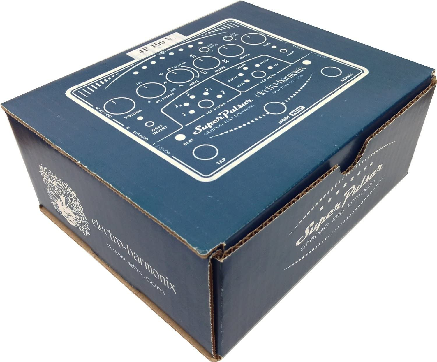 Electro Harmonix 665195/Synthesizer Filter Tap Super Stereo Pulsar Tremolo Electric Guitar Effect