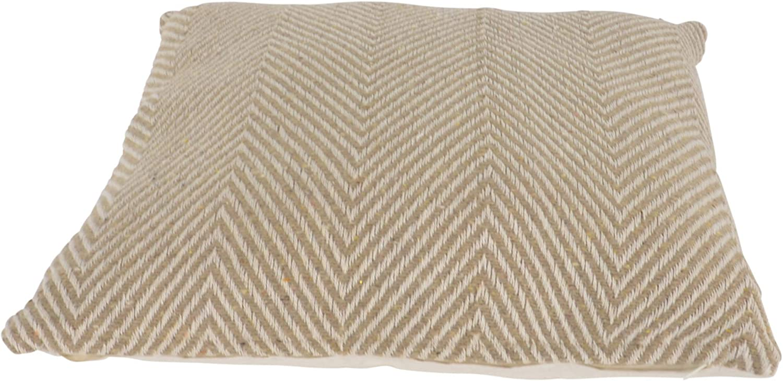 habeig Sitzkissen Kissen Outdoor Wetterfest 45x45 cm Zierkissen Gartenstuhl Auflagen Braun #572