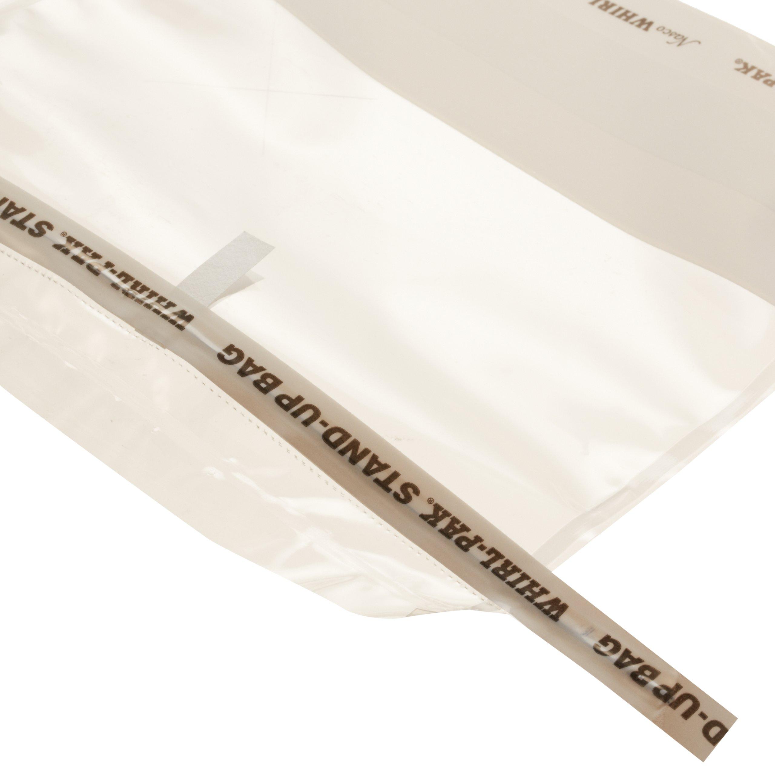 Nasco Whirl-Pak B01401WA Stand-Up Bag, 23cm L x 15cm W, 710ml Capacity (Box of 500)