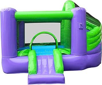 Amazon.com: macalean Comercial hinchable Twister Slide ...