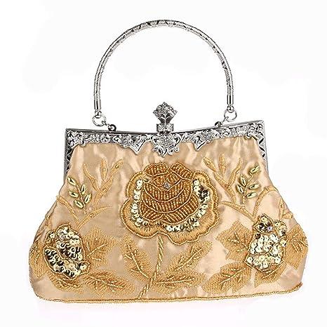 Gshe Bag Carteras De Mano Clutches para Mujer Bolsos para Mujeres Vendimia Bolso Cheongsam Bolso De