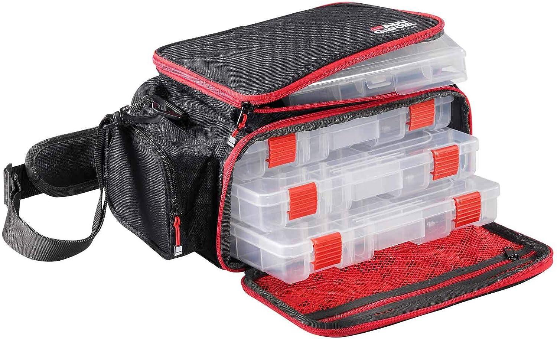 Grau Schwarz Rot Abu Garcia Unisex/ Erwachsene Mobile Lure Bag