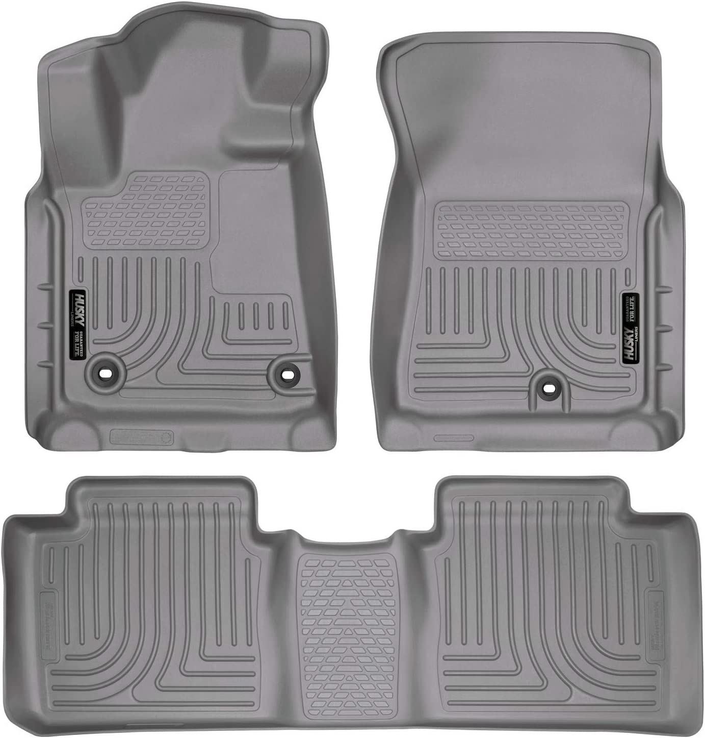 Husky Liners Fits 2007-19 Toyota Tundra Weatherbeater Center Hump Floor Mat