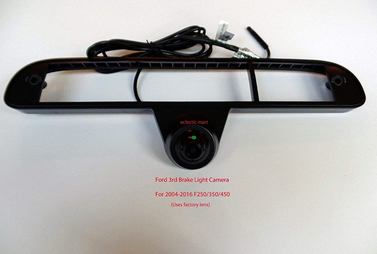 Truck Must Have a Factory Tailgate Handle Camera Plug /& Play T Harness Switcher 1999-2016 Ford F250 // F350 // F450 3rd Brake Light Cargo Camera to Factory Radio SYNC 2 /& SYNC 3 System 8 Screen