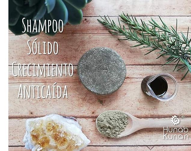 Hunab Kunan- Shampoo Sólido Crecimiento Anticaída