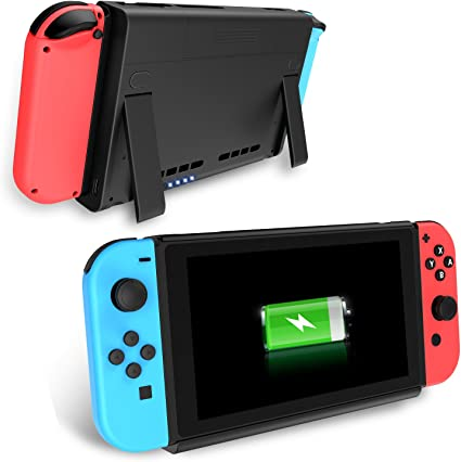 Nintendo Switch Cargador de Baterías, Antank Portable Switch Batería de reserva 6500mAh Extended Travel Power Bank para Nintendo Switch 2017: Amazon.es: Electrónica