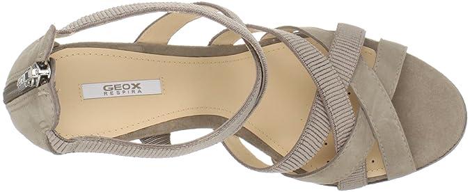 Geox Donna Sibilla Sand, Damen Sandalen: : Schuhe