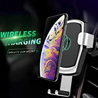 ANNKOO 10W Gravity Wireless Fast Charge Car Mount Air Vent Phone Holder