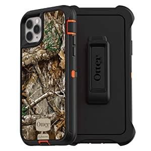 OtterBox DEFENDER SERIES SCREENLESS EDITION Case for iPhone 11 Pro Max - REALTREE EDGE (BLAZE ORANGE/BLACK/RT EDGE GRAPHIC)