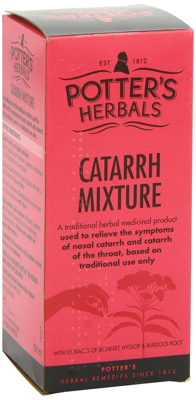 Potters Herbal Supplies 150ml Catarrh Mixture