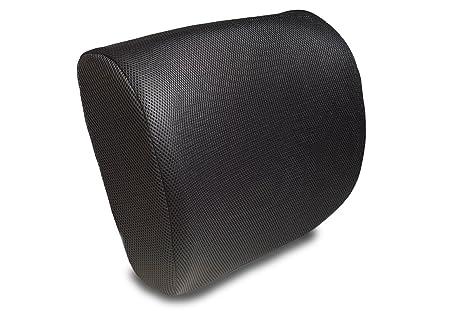 Premium Memory espuma cojín de apoyo lumbar - Respaldo para silla de ...