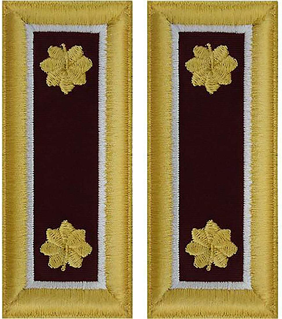 Army Officer Medical Shoulder Boards