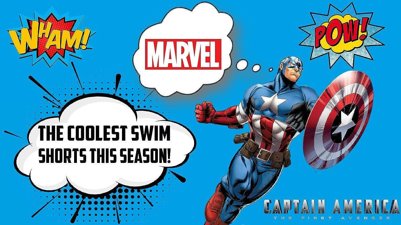 Marvel Avengers Capitan America | Bañador Premium Niños ...