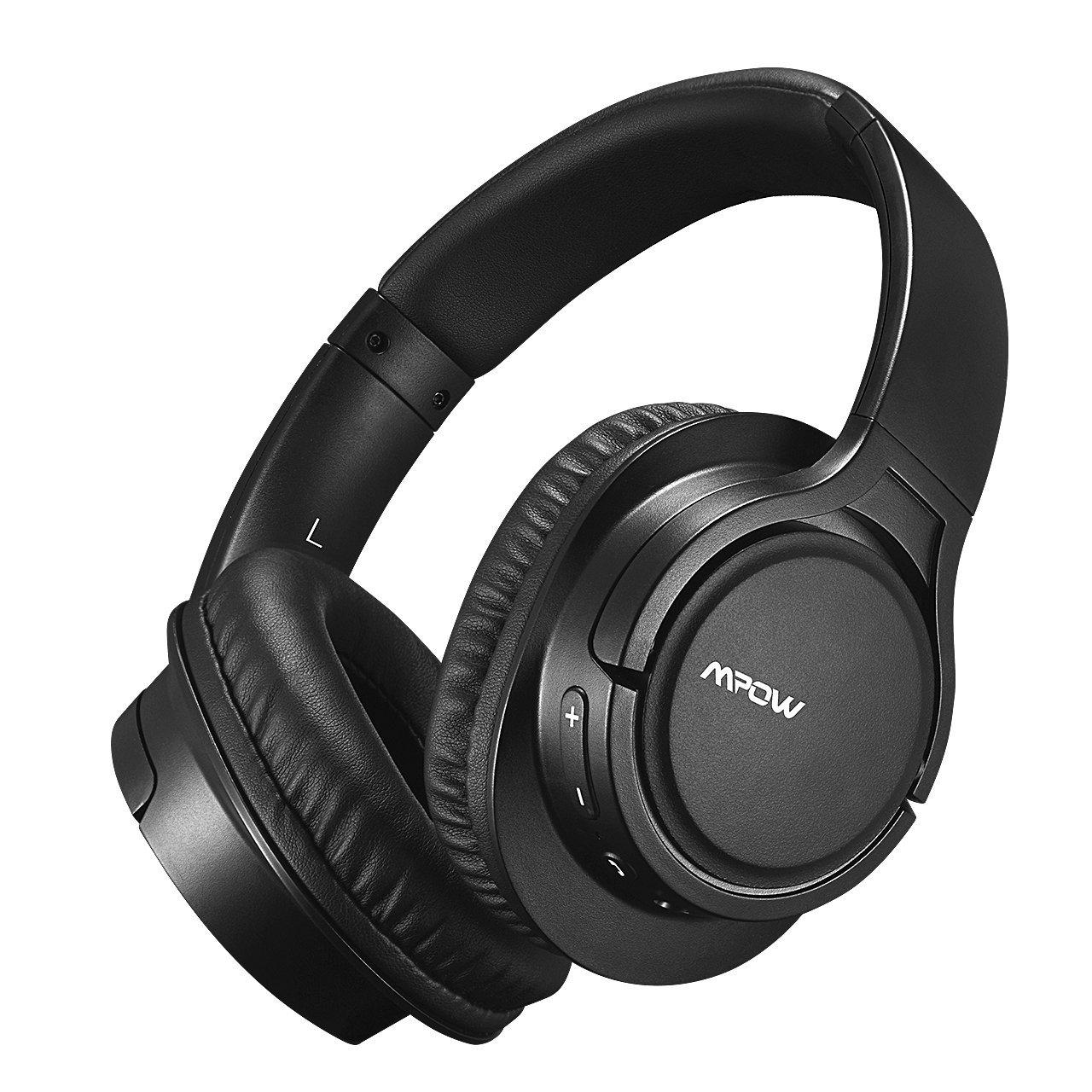 Mpow H7 Cascos Bluetooth Inalámbrico,Auriculares Bluetooth para Televsion,15hrs de Reproduccion de Música